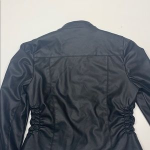 New Look Jackets & Coats - Black leather jacket